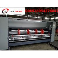 Chain Type Flexo Printer Slotter Machine , Carton Box Printing Machine Manufactures