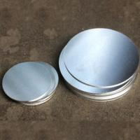 China Round Shaped Anodized Aluminum Plate , Round Metal Disk  0.4-6.0mm Thickness on sale