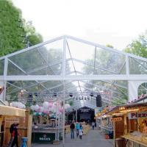 Unique Waterproof Wedding Tents Transparent Window Ceremony Activities Use Manufactures