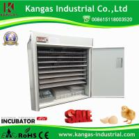 High hatching rate 2112 eggs chicken egg incubator with Incubator parts for sale Manufactures