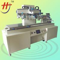 CE Approved Large Format Run-table Car Glass Semi-Automatic Screen Printer with Unloading Mechanical Arm