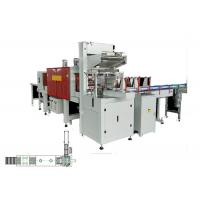 China Auto Wrapping Machine Industrial Shrink Wrap Packaging Systems For Bottle on sale