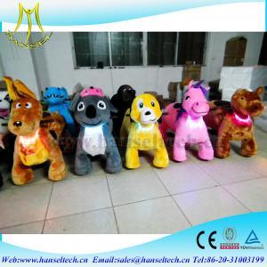 China Hansel kids indoor play equipment indoor amusement center happy rides on animal on sale