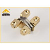 Hidden Zinc Alloy Small Concealed Hinges For Lightweight Door Leaf Manufactures