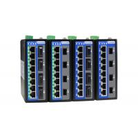 12-port Full Gigabit Layer 2 Managed Industrial PoE/non-PoE Ethernet Switch Manufactures
