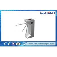 China Stainless Steel Tripod Turnstile Double Direction for Access control solution on sale