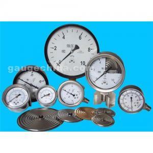 Capsule low pressure gauge Manufactures