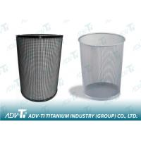 Hot / cold rolling 5.0mm Titanium Mesh for industrial filter Manufactures