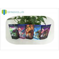 Custom Logo Herbal Incense Bags Stand Up Zipper Clear Window Heat Seal Laminated Manufactures