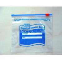 Food Garde LDPE Plastic Zipper Bags With 4 Colors 0.035mm - 0.12mm Manufactures