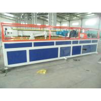 PP / PE Deck Plastic Profile Extrusion Line , WPC Tray Profile Extrusion Machinery Manufactures