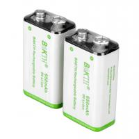 NiMH Rechargeable Battery 9V 650MAH Manufactures