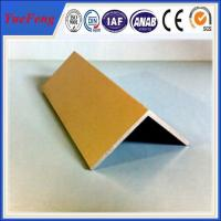 High Quality decorative aluminum extruded angle profile 6063 t5 made in china Manufactures