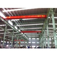 Single Girder Travelling Overhead Crane EOT Lifting Devices For Workshop / Plant Manufactures