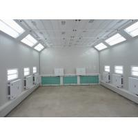China Custom Infrared Heating Garage Spray Booth , Car Spray Painting Equipment on sale