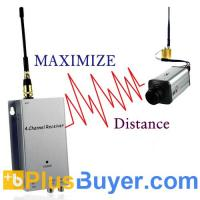 Wireless Signal Booster + Receiver (1.2 GHz, 300 Meter Monster Edition) Manufactures