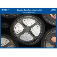 China 0.6/1KV LV 4C Armoured Power Cable CU / AL Material XLPE Insulated Cable on sale
