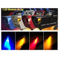 400 Watt Fog Machine, Portable LED Fogger Machine Mist Smoke Maker With  RGBWYP LED  X-025 Manufactures