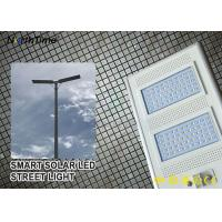 IP65 Smart Control Solar Powered LED Street Lights With Solar Panel & Lithium Battery Manufactures