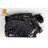Water Soluble Natural Bee Propolis Resin Black Block For Pharmacy Manufactures