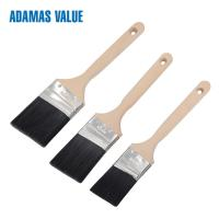 Tapered brush,angled paint brush,synthetic paint brush with long wooden handle CF1832108 Manufactures