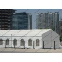 Nice Looking Clear PVC Tent Waterproof Aluminum Frame With Church Windows Manufactures