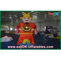 Giant 5M Red Decorative Inflatable Cartoon Characters For Chinese New Year Celebration Manufactures