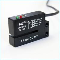 Buy cheap 12-24VDC NPN NO.NC 4 Wires Fork Optical Label Sensor With Potentionmeter from wholesalers