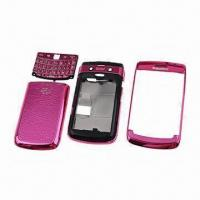 Mobile Phone Full Housing Case for BlackBerry 9700/9780, with Classic Electronic Component Manufactures