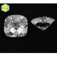 China Cubic zirconia Square Radial Turtle Face Natural Base AAAAA Quality Top Cutting on sale