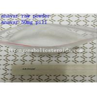 CAS 53-39-4 anabolic bodybuilding supplements Oxandrolone 50MG Oral Tablet Anavar Pills Manufactures