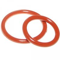 Aging Resistant Silicone Rubber O Rings Seal Gasket Food Grade For Customized Request Manufactures