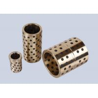 China Solid Lubricant  Casting Bronze Bushing Bearing For Machine Tools on sale