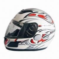 Full-face Motorcycle Helmet with Adjustable Chin Strap, Made of ABS, Available in Various Colors Manufactures