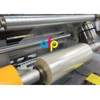 High Transparency Metallised Plastic Film , BOPET UV Resistant Laminating Film Manufactures