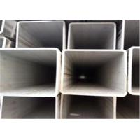 China 100mm 2x2 Structural  304 Stainless Steel Square Tubing Bright Customized Length on sale