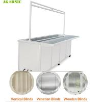 China Fast Speed Industrial Ultrasonic Washing Machine For Wood / Vertical Blinds Remove on sale