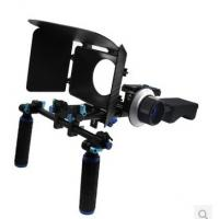 DSLR Rig Set Movie Kit withshoulder mount rig Matte Box And follow focus Manufactures