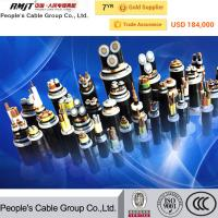 China 11kv copper/ aluminum conductor XlPE/PVC/PE insulated power cable on sale