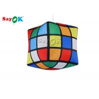China Hanging Inflatable Rubik Cube Model For Advertising Event SGS UL on sale