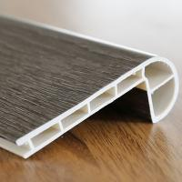 Wall Baseboard PVC Flooring Accessories Anti Discoloration For Bathrooms Manufactures