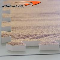 Non-toxic Soft Wood Floor Tiles - EVA foam softer , safety passing EN71,REACH, Formamide Manufactures