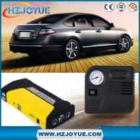 China 12v car jump starter with tire air pump compressor emergency hammer on sale