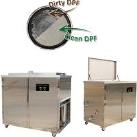 China Ceramic Car DPF Ultrasonic Filter Cleaning Machine Stainless Steel 304 / 316 Material on sale