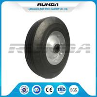 Tubeless 6inch Wheelbarrow Solid Tire  Offset Hub Easy Replacement For Lawn Mower Manufactures
