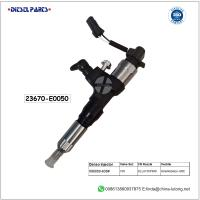 China hino injector replacement 23670-E0050 denso diesel fuel injectors on sale