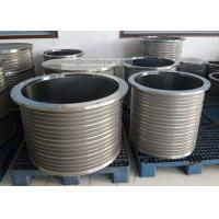 stainless steel wedge wire slotted bar screen basket for pressure screen Manufactures