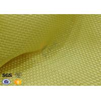 China Yellowish Motorcycle Clothing Kevlar Aramid Fabric 0.3 Thickness on sale
