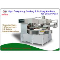 Stable Rotary High Frequency Blister Packing Machine Low Power Consumption Manufactures