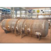 ASME Standard Produce Superheatered And Saturated Steam Boiler Drum 100mm Thickness Manufactures